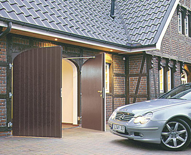 side hinged garage doors by Buckle & Jones Penrith